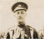 Photo of Hedley Charles Allez– Hedley Charles Allez. Picture believed to have been taken in France.