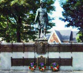 War Memorial– Cumberland Country monument, Capt Leon Hall Curry.