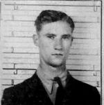 Identification Card– As an AC2, Scott received this D Card from the RCAF.  He is 22 years of age in this photo.    Source: Library & Archives Canada via R. Whitehouse