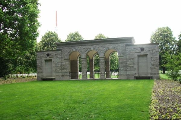 Cemetery– Berlin 1939 - 1945 War Cemetery - 2015 Photo courtesy of Marg Liessens