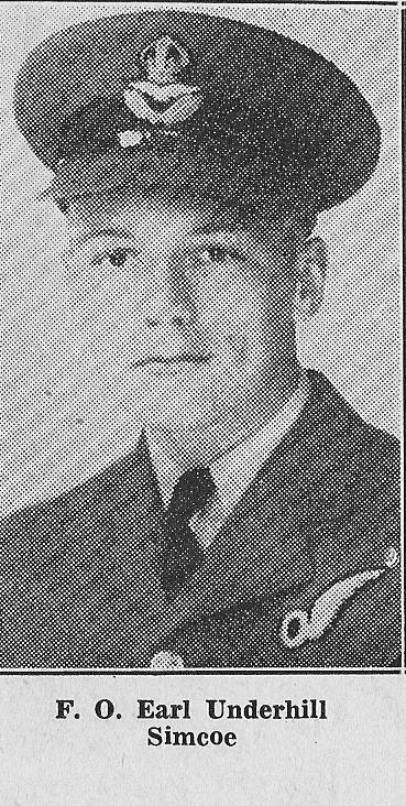 Photo of Earl John Underhill