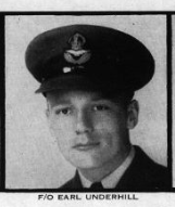 Photo of EARL JOHN UNDERHILL– In memory for the students from Mimico (Ontario) High School who went to war and did not come home. Submitted for the project, Operation: Picture Me
