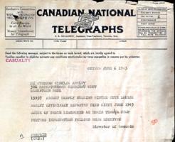 Télégramme – Soumis dans le cadre du projet : Operation Picture Me