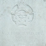 Grave marker– Photo provided by The Commonwealth Roll Of Honour Project. Volunteer Mike and Dale