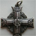medal– This is a picture of his memorial cross
