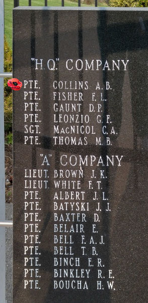 Memorial– Private Avery Brook Collins is also commemorated on the Lake Superior Regiment (Motor) Memorial located in Hillcrest Park, Thunder Bay, ON … May 2018 ... photo courtesy of Marg Liessens