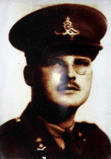 Photo of James Downs Doherty– in uniform.
