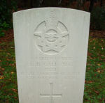 Grave Marker– Grave marker of Edward Bagley Gale in Brookwood Cemetery