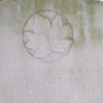 Grave marker– Photo provided by The Commonwealth Roll Of Honour Project. Volunteer Mike and Dale Symmonds