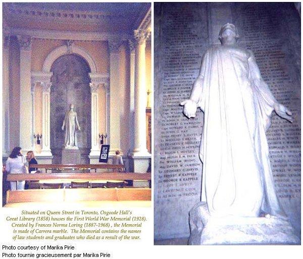 Monument commémoratif de Osgoode Hall