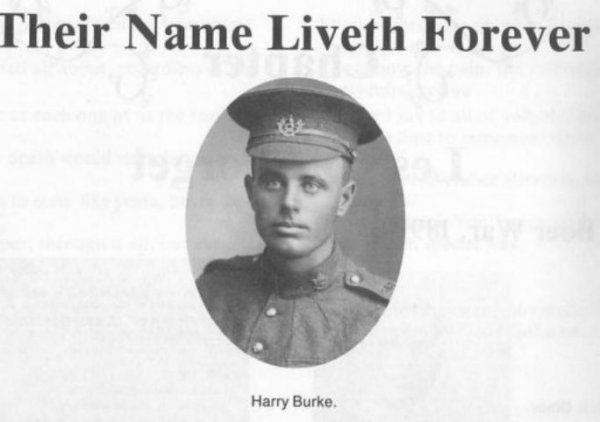 Photo of Harry Leslie Burke