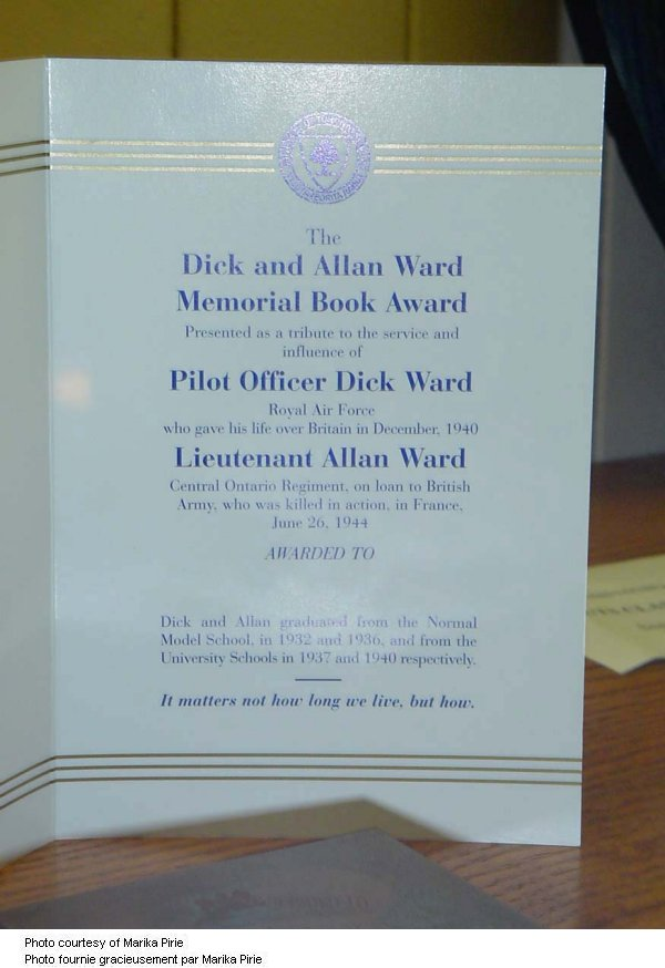 Memorial Book Prize 2