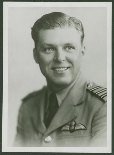 Photo of Edgar Andrew Good– Squadron Leader Edgar Andrew Good Courtesy McGill University Archives
