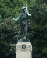 Monument– Orangeville (Dufferin County) Ontario War Memorial.