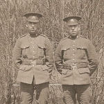 Photo de Stanley and Ralph – Stanley et Ralph Cooper, 1916 Bury Québec
