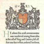 Certificat commémoratif