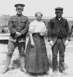 """Family Photo– Cyril was youngest son of William Taylor Wilson and Mary Mirfin Wilson nee Wasteneys. He was 5'4"""" tall"""