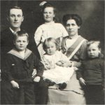 Family picture– James Gough and Family - 1909