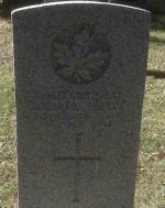 Grave Marker– Corporal Pretty's Commonwealth War Graves Commission headstone