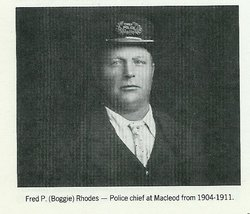 Photo of Frederick Parker Rhodes– Submitted for the project, Operation: Picture Me