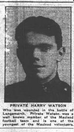 Newspaper clipping– Calgary Herald May 12, 1915
