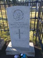 Grave Marker– Headstone of Price W. Elliott near Beaumont, Alberta