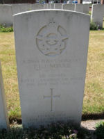 Grave Marker– photo taken at Canadian War Cemetery, Uden The Netherlands, May 2009