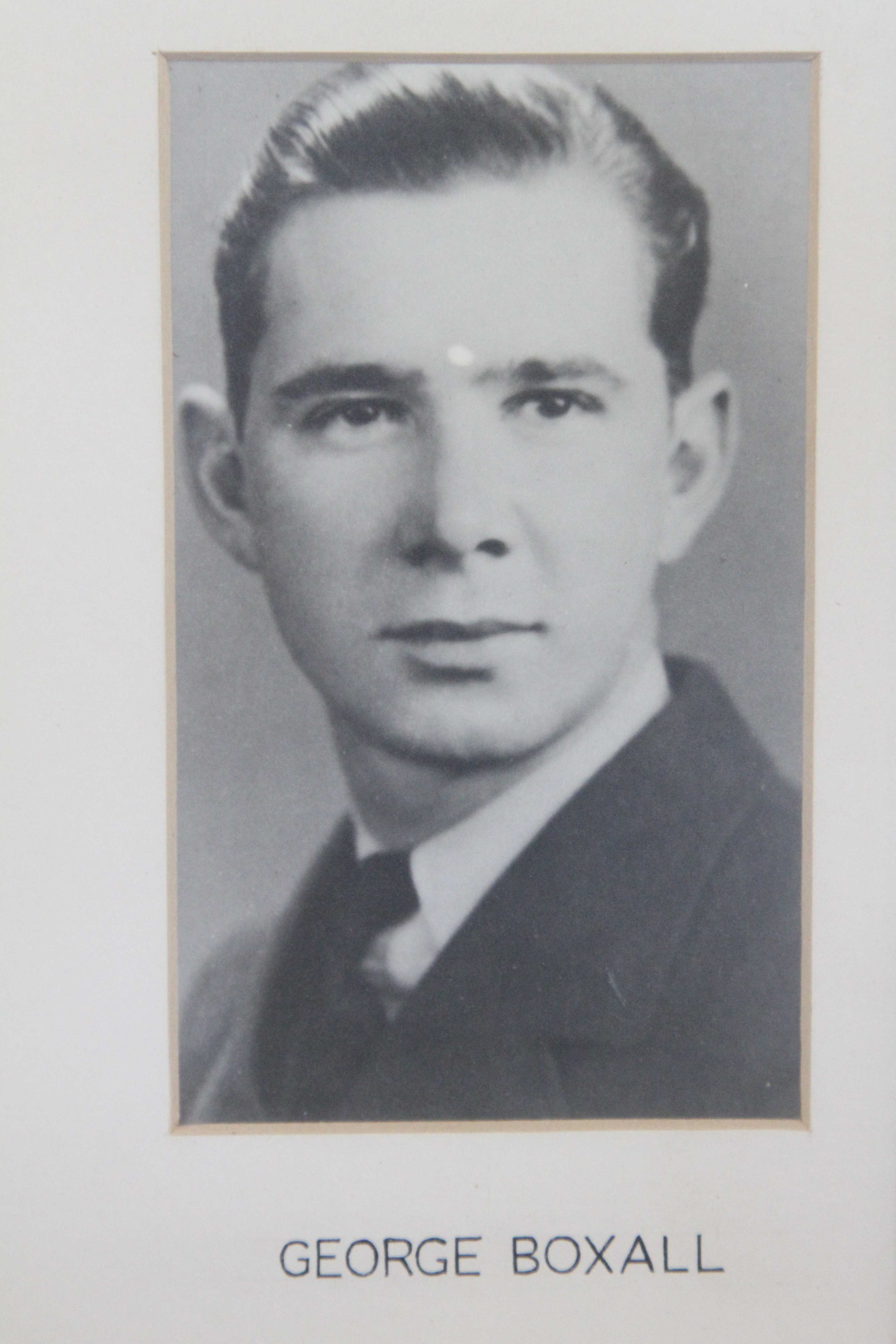 Photo of George Robert Boxall– In memory of the students from the Vaughan Road Collegiate Institute  (Toronto) who went away to war and did not come home. Submitted for the project, Operation Picture Me