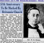 Newspaper clipping– Saint Stephen's Anglican Britannia, Ontario honour roll