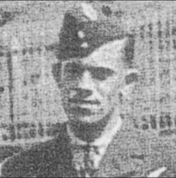 """Photo of Wallace Clifford Luther– In memory of the men and women from Newfoundland who went away to war and did not come home. From the Newfoundland Legion magazine """"Lest We Forget"""". Submitted for the project, Operation Picture Me"""