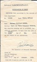 Death Certificate– Notification of Death