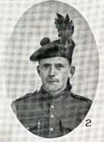 Photo of ALBERT JAMES ROWE– In memory of the men who joined the 185th Battalion (Cape Breton Highlanders) who went to war and did not come home. Submitted for the project, Operation Picture Me
