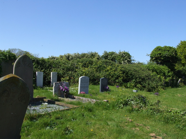 Salthouse (St Nicholas) Churchyard– View of his grave in Salthouse (St Nicholas) Churchyard.  His is the right hand grave marker of the two CWGC headstones.