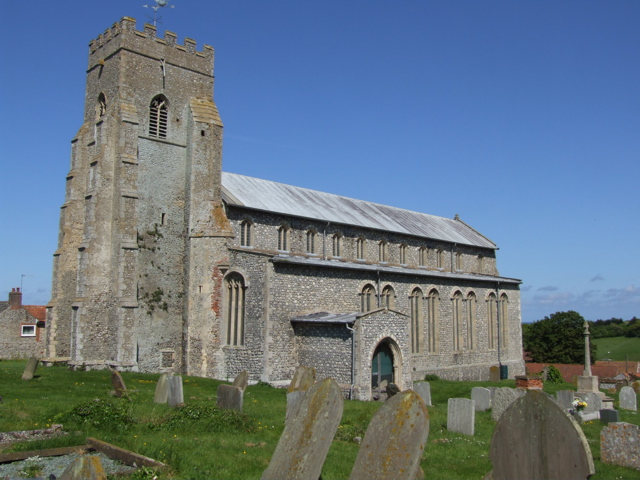 Salthouse (St Nicholas) Church– View of Salthouse (St Nicholas) Church.