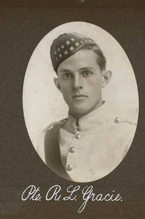 Photo of ROBERT LOVE GRACIE– In memory of the employees of the T. Eaton Company that went to war and did not come home.  Submitted for the project, Operation: Picture Me