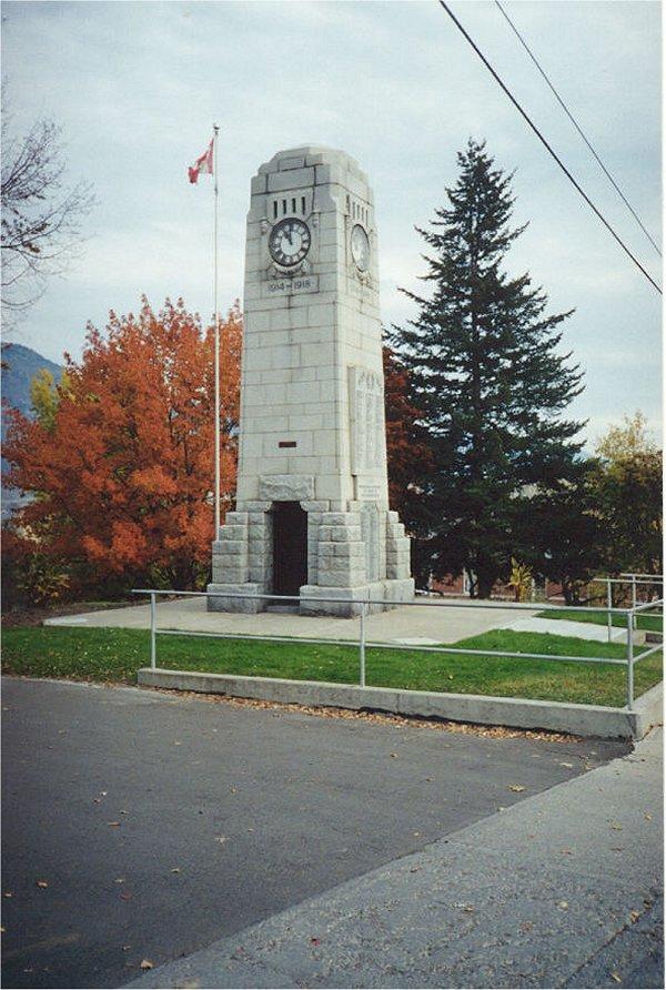 Battle Street Cenotaph Memorial