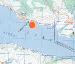 """Location of Smith Cove– The 2004 Remembrance List released by the British Columbia government on November 11 , 2004 included a British Columbia feature named in memory of our uncle Pilot Officer Joseph Harry Smith.  Smith Cove is located on the north shoreline of Kamloops Lake at 50*43'50""""-120*33'35"""" in Lac du Bois Provincial Park just west of the Kamloops City western boundary near Tranquille.  Also released was a proclamation issued jointly by """" The Province of British Columbia and The Geographical Names Board of Canada """" signed by the Honourable Gordon Campbell Premier of British Columbia."""