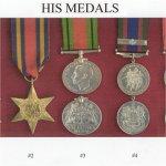 Medals– Pilot Officer Joseph Harry Smith's Medals