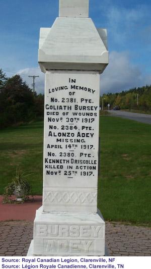 Monument in Clarenville
