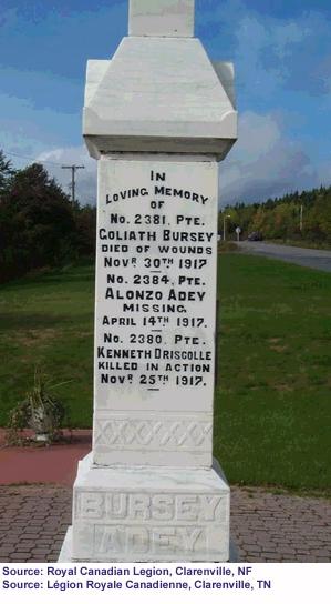 Monument in Clarenville 2