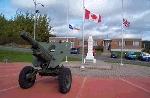Monument in Clarenville 2– Monument found in Clarenville commemorating Goliath Bursey