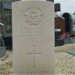 Grave Marker– Grave of Albert Long, Lochrist Cemetery, Brittany, France