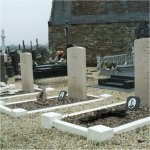 Le Conquet Communal Cemetery– The whole crew graves at Lochrist Cemetery, Brittany, France.
