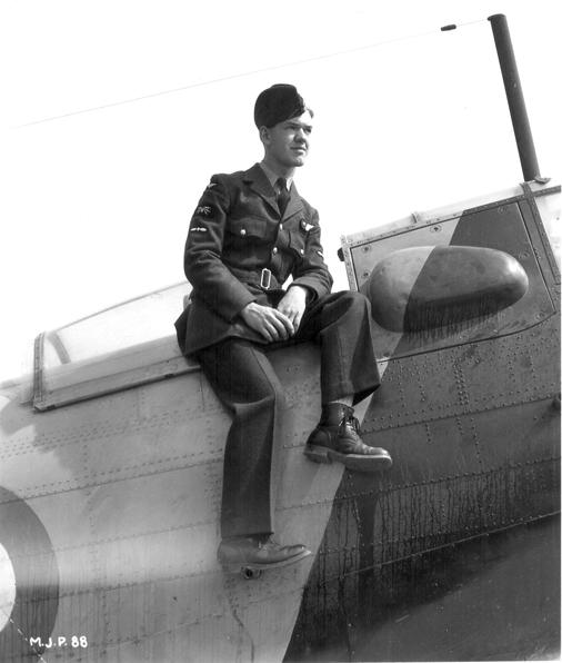 "Photo of Joseph Edouard ""Rocky"" Boudreault– Mont Joli, Québec. 1942 (?)"