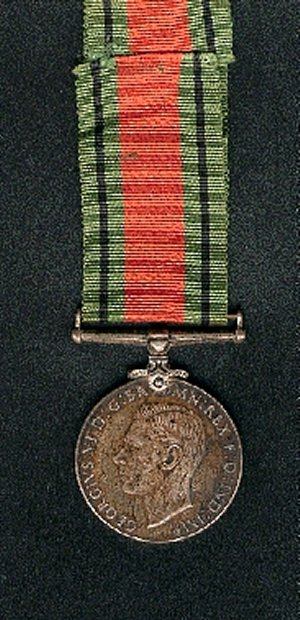 Defence  Medal (Back)
