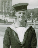 Photo of John Crowley– Photo of brother John Crowley who served on HMCS GATINEAU and survived the war.
