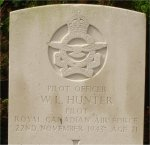 Grave Marker– Gravesite of Captain William Langenbeck Hunter. He was born on May 4, 1922.