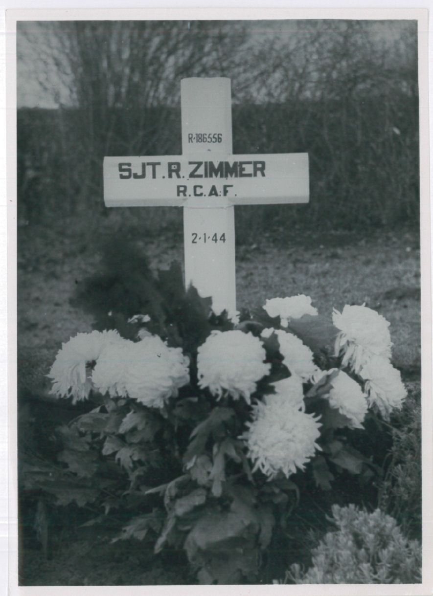 Temporary Grave Marker