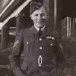 Photo of Walter Dobson– In memory of the people of London, Ontario who served during World War II and did not return. Submitted for the project, Operation: Picture Me