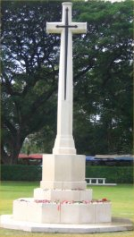 Cross of Sacrifice– Photo taken mid December 2006